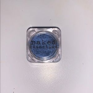 NAKED Cosmetics blue pigment